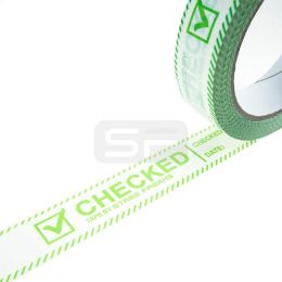Controle tape CHECKED 25 mm x 66 m