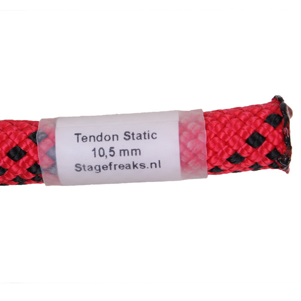 Tendon static 10,5m rood touw
