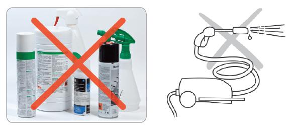 Do not use niet te gebruiken middelen onderhoud