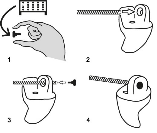 Silcom cord instructies
