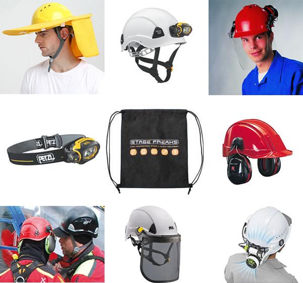 Accessoires voor veiligheidshelmen
