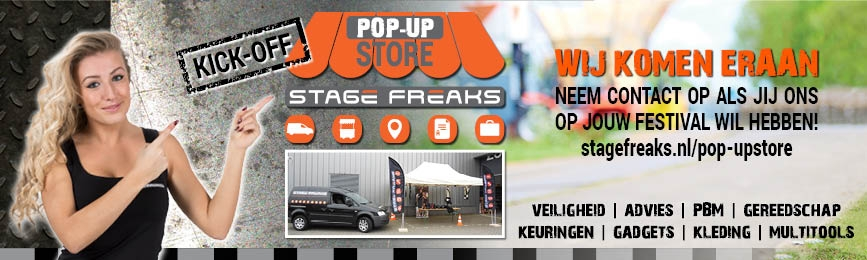 Stage Freaks Pop-up store