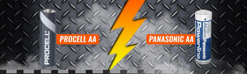 Procell AA vs Panasonic AA